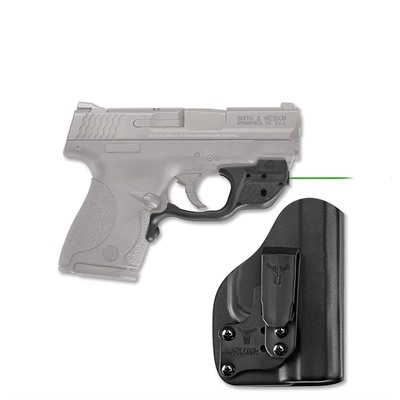 S&w Shield 9/40 Laserguard With Blade-Tech Iwb Holster Crimson Trace Corporation.