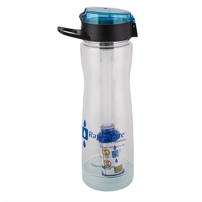 "Intrepid Water Bottle With 2.5"" Filter Rapidpure."
