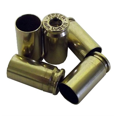 Once-Fired 9mm Luger Brass Top Brass, Llc.