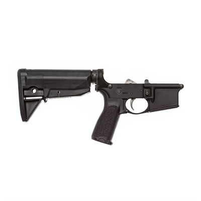 AR-15 Complete Lower Receiver w/ Bcmgunfighter Stock by Bravo Company