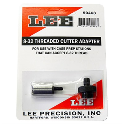 Large Threaded Cutter Adapter Lee Precision.