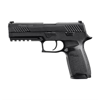 P320 Full 4.7in 9mm Nitron Polymer Siglite Night Sights 17+1rd Sig Sauer.