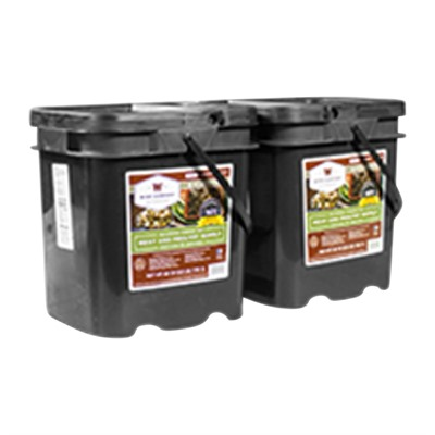 120 Serving Gourmet Freeze Dried Meat Grab & Go Food Kit Wise Foods.
