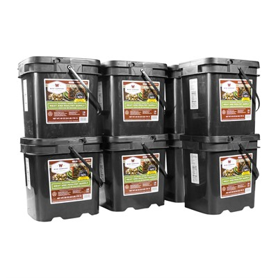 480 Serving Gourmet Freeze Dried Meat Grab & Go Food Kit Wise Foods.
