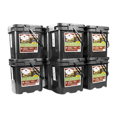 600 Serving Gourmet Freeze Dried Meat Grab & Go Food Kit Wise Foods.