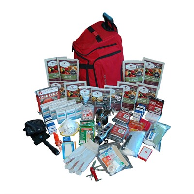 2 Week Deluxe Survival Backpack Wise Foods.