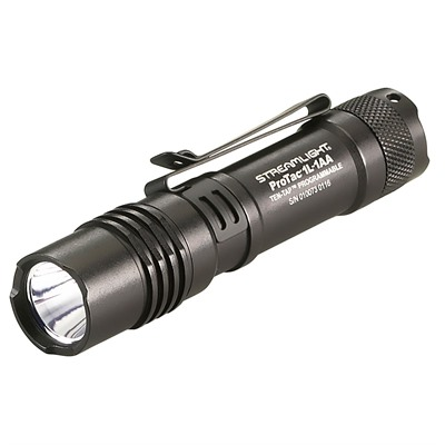 Bottom mount tactical flashlight