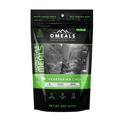 Vegetation Chili Mre Omeals Premium Outdoor Foods.