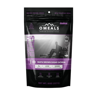 Maple Brown Sugar Oatmeal Mre Omeals Premium Outdoor Foods.