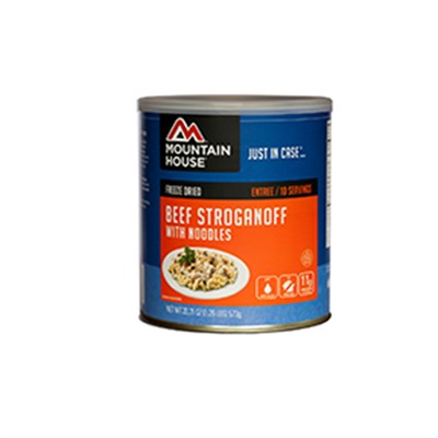 Beef Stroganoff With Noodles 10 Can Mountain House.
