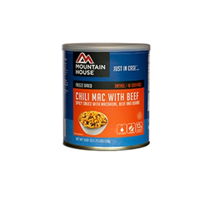 Chili Mac With Beef 10 Can Mountain House.