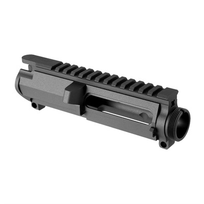 Stripped Receiver  6061 Aluminum  Type III Class II Hard Coat Anodized  Features M4-type feed ...
