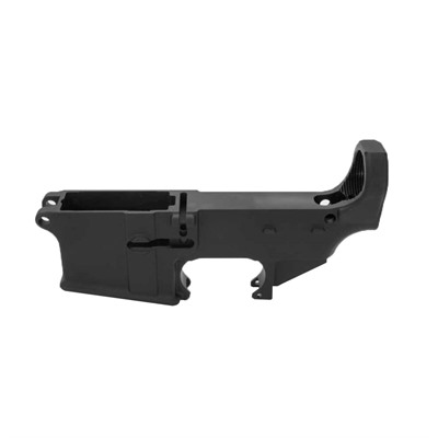 Ar-15 80% Lower Receiver Black Anodized Anderson Manufacturing.