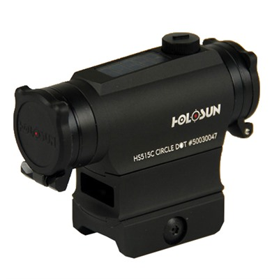 Quick Detach Circle Dot Solar Micro Red Dot Sight Holosun.