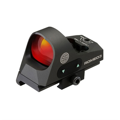Romeo3 Reflex Sight With Picatinny Riser Sig Sauer.