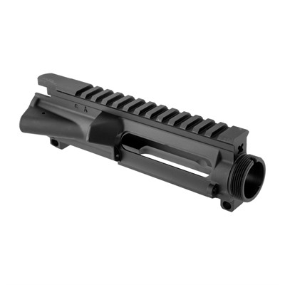 These stripped, fully-forged upper receivers are CNC machined from a solid 7075 T-6 aluminum billet. Features include an integrated Picatinny rail with ...