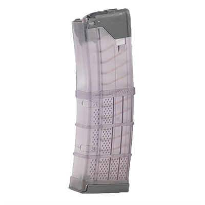 Ar-15 L5awm Translucent Smoke Magazine 30-Rd Lancer Systems.
