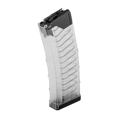 L5awm Translucent Clear 30-Rd Magazines Lancer Systems.