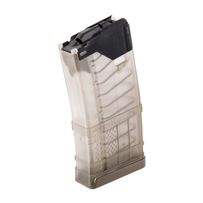 L5awm Translucent Flat Dark Earth 20-Rd Magazines Lancer Systems.