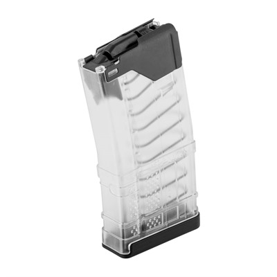 L5awm Translucent Clear 20-Rd Magazines Lancer Systems.