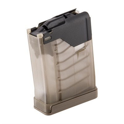 L5awm Translucent Flat Dark Earth 10-Rd Magazines Lancer Systems.