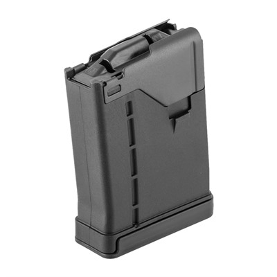 L5awm Opaque Black 10-Rd Magazines Lancer Systems.
