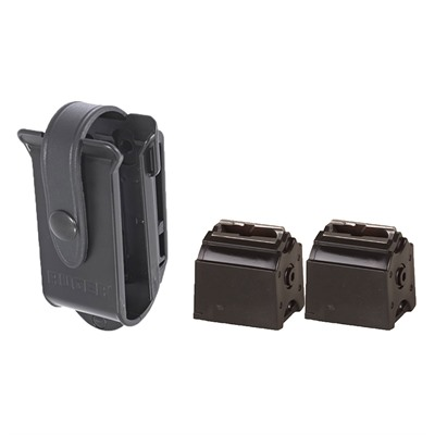Unique case that provides quick and easy access to two BX magazines in the field and on the range. Keeps ammuniton clean ...
