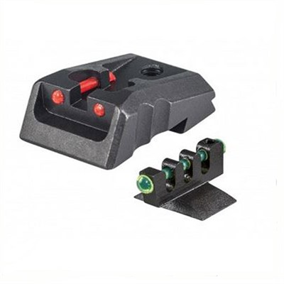 Kimber Fixed Rear Sight Red W/ Green Contour Front Fusion Firearms.