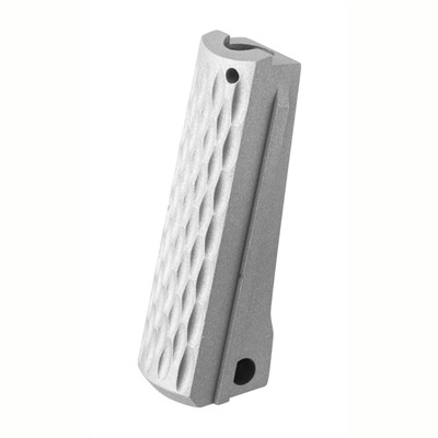 Fusion Pro-Series, Gray Matte Stainless steel Mainspring Housing, for Full Size Government size 1911 frames.  CNC Machined from Stainless Steel ...