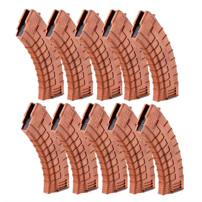 Ak-47 Intrafuse Magazine 30rd Orange 10-Pack Tapco Weapons Accessories.