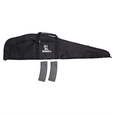 Scoped Rifle Case W/ 2-Pk 30-Rd Pmags Brownells.