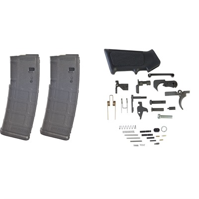 Ar-15 Dpms Lower Parts Kit W/ 2 Magpul 30-Rd Pmags Brownells.