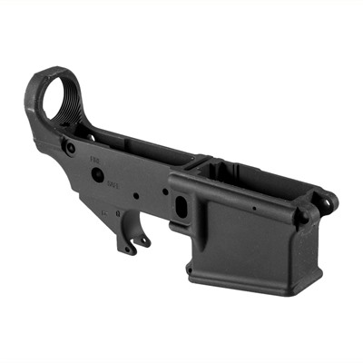 Ar-15 Stripped Lower Receiver 5.56 Black Ruger.