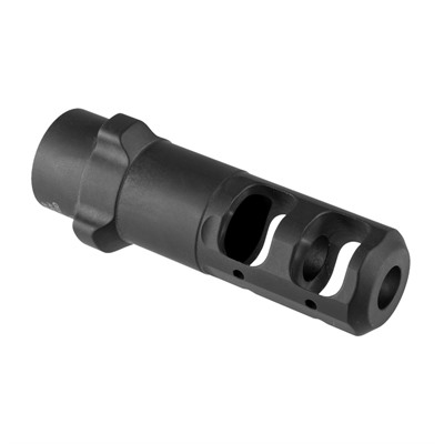 Tri-Lock Muzzle Break For Arrow Qm Suppressor Gemtech.