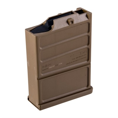 308 Winchester High Capacity Magazine  Holds 15 Rounds  High Strength Polymer Construction  MIL-STD Flat ...
