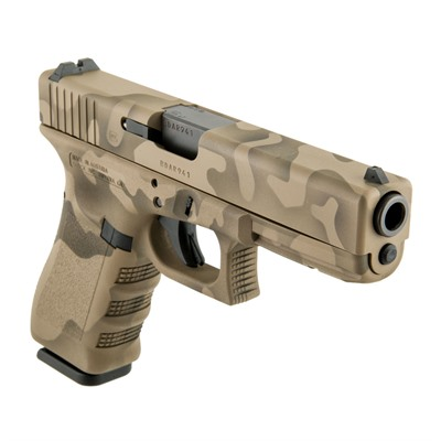 Camoflage G17 Gen3 Handgun 9mm 17+1 by Glock