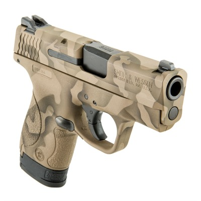 Camoflage S & w/ M & P Shield Handgun 9mm 8+1 by Smith & Wesson