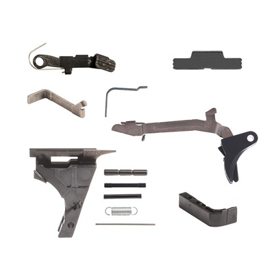 Lower Parts Kit for Glock Compact 9mm, Ext SS & Mag Catch
