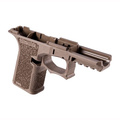 Pf940cv1 80% Frame Textured for Glock 19/23/32 Coyote by Polymer80