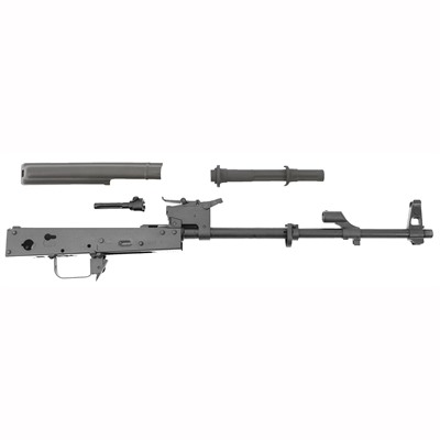 The Blackheart Firearms underfolding stock AK-47 barreled receiver kit features all the same components as the Blackheart Firearms' line of complete AKM ...