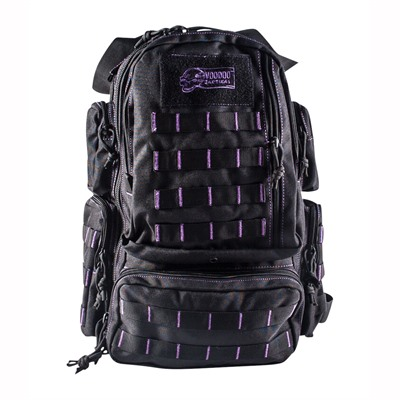 Mini Tobago Pack Black With Purple Stitching Voo Doo Tactical.