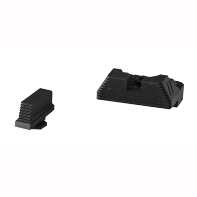 Zev Sight Set, .215 Black Front, Combat V3 Black Rear Zev Technologies.