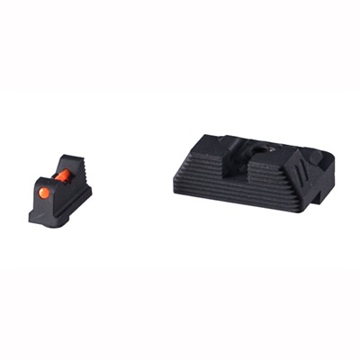 Zev Sight Set, .230 Fiber Optic Front, Combact V3 Black Rear Zev Technologies.