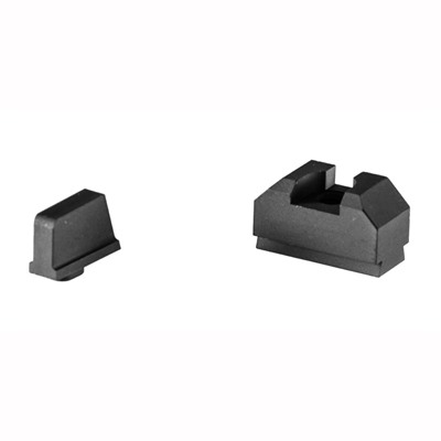 Zev Sight Set, .300 Black Front, Co-Witness Black Rear Zev Technologies.