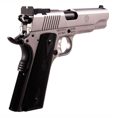 "Sr1911 10mm 5"" Ss Adjustable Ruger."