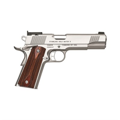 1911 Stainless Gold Match Ii 45 Acp 5in 45 Acp Stainless 8+1rd by Kimber Mfg.