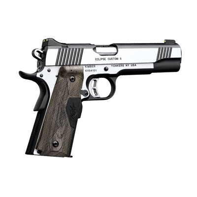 1911 Eclipse Custom Ii Lg 45 Acp 5in 45 Acp Stainless 8+1rd by Kimber Mfg.