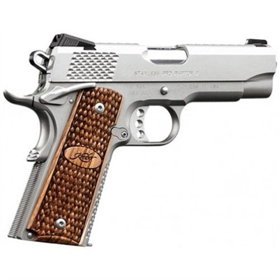1911 Stainless Pro Raptor Ii 9 Mm 4in  9mm Stainless 8+1rd Kimber Mfg..
