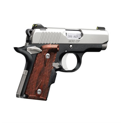 1911 Micro Cdp Lg 380 Acp 2.75in 380 Auto Stainless/Blue 6+1rd by Kimber Mfg.