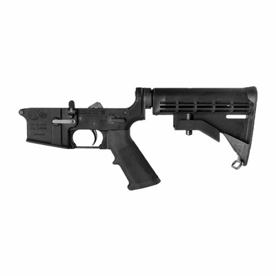 Looking to build your next AR-15 rifle? The Colt AR-15 M4 Complete Lower Receiver provides AR builders with the perfect foundation upon ...